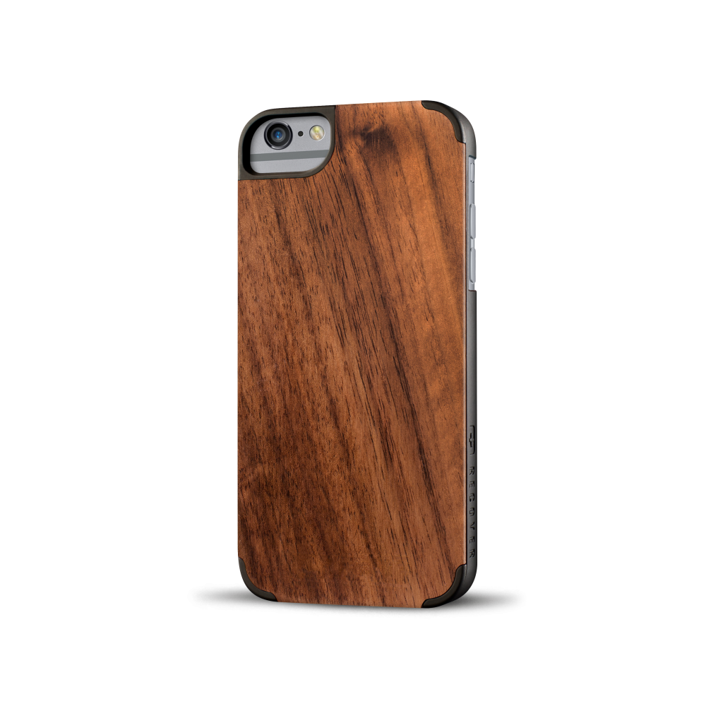 iphone case, wood iphone case, walnut wood, walnut iphone case, recover wood case