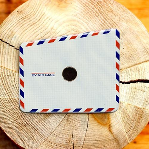 Wooden Pocket Square | Air Mail Envelope