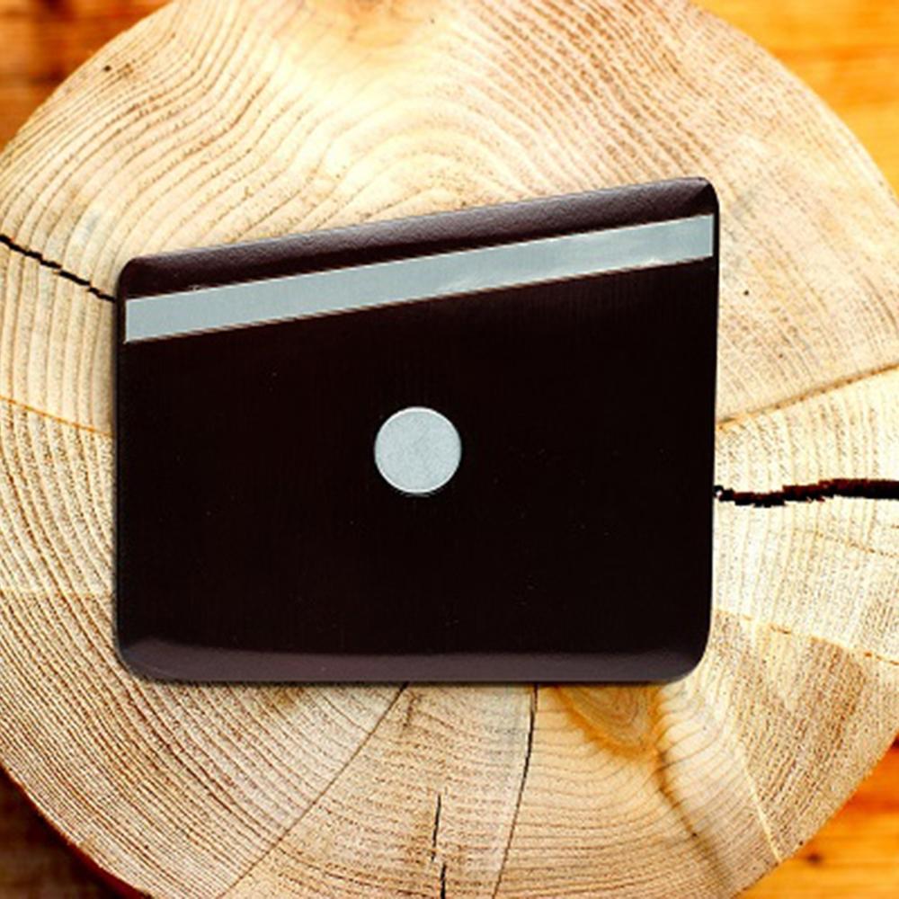 Wooden Pocket Square   Cocoa Metal   Baffi   Cocoa Bean Wood