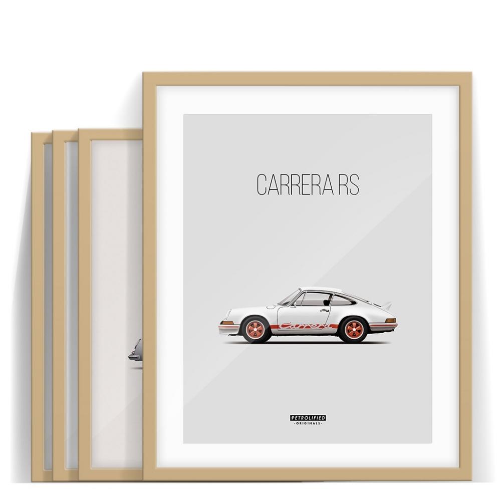 car prints, porsche collection, luxury car art