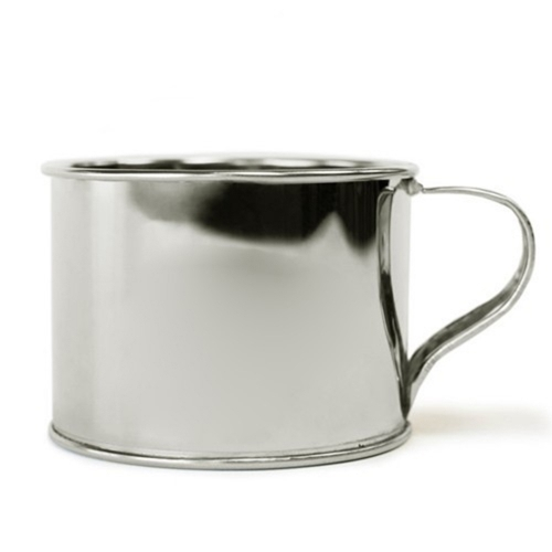 jacob bromwell, bromwell tin cup, classic tin cup, bromwell cup