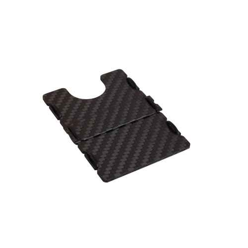 Ultra Carbon Fiber Wallet - Black, Slimtech