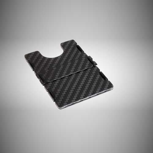 RIFD Carbon Fiber Wallet - Black