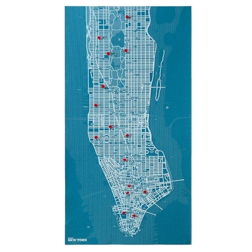 Pin City New York - Blue