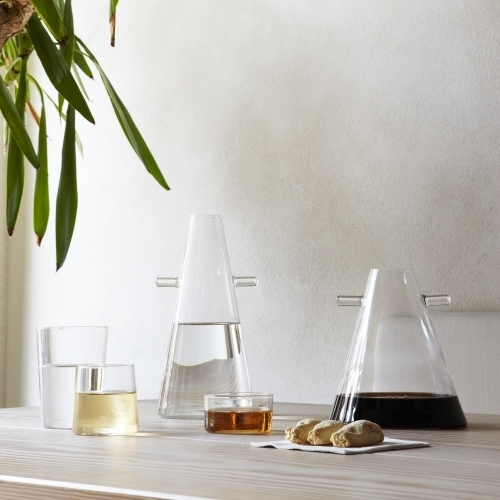 WWW Jug Transparent Blown-Glass | Atipico