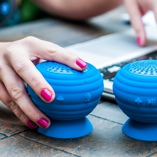 StickUp Stereo Speakers, Simple Living Technology
