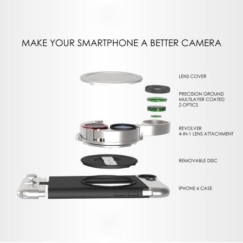 Lite Case & Lite Camera Kit for iPhone 6/6S Plus | Ztylus