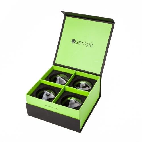 Stemless Shot Glasses | Cupa-Shot Set | Sempli