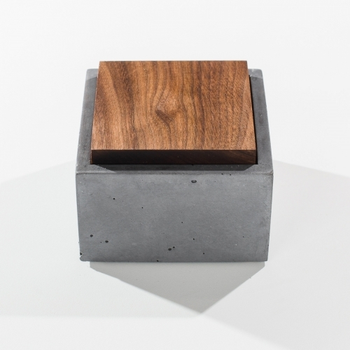 Square Box, Grey