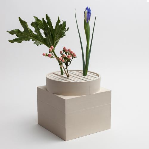 Tall Utility Vase | Cream