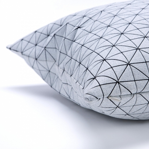 Geo Origami Pillow Cover