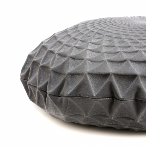 Noam Pillow Cover, Grey, Mikabarr