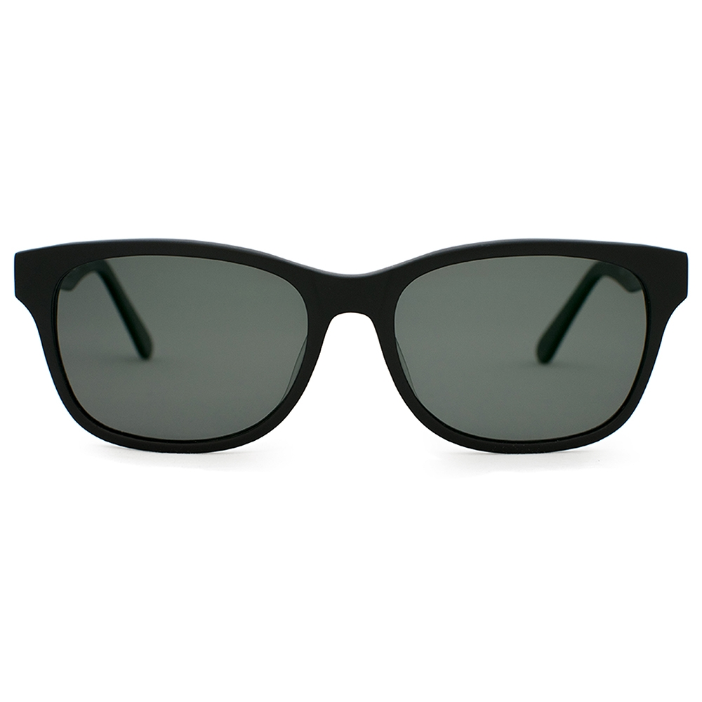 Premium Acetate Sunglasses | Windemere Matte Black | Parkman