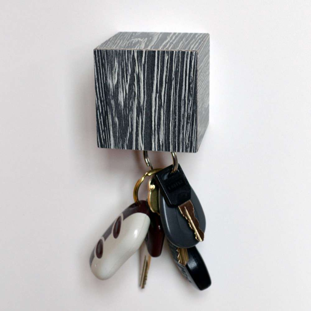Kube Key Holder, Wenge, Tat Chao