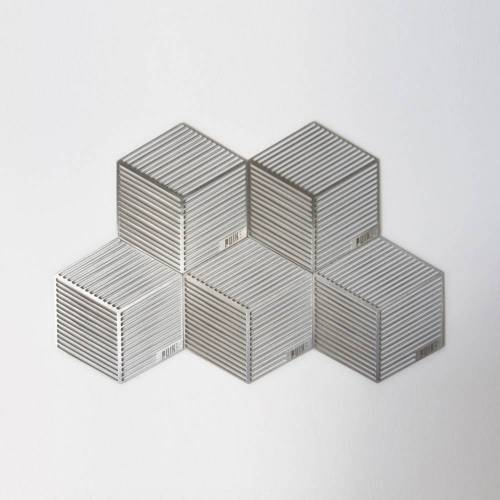 Seco Hexagon Shaped Coasters - Puik Art
