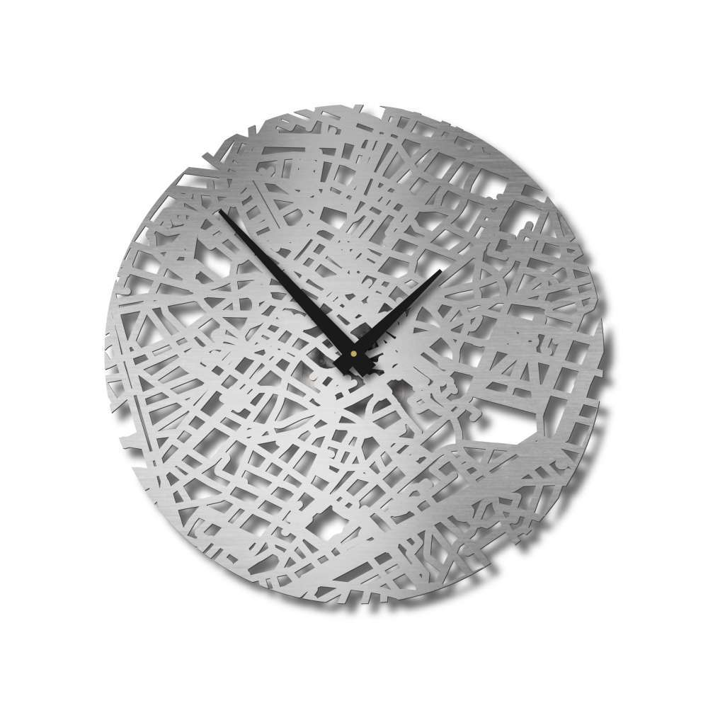 Brussels Clock  Urban Story   Design Timepieces   Wall Clock