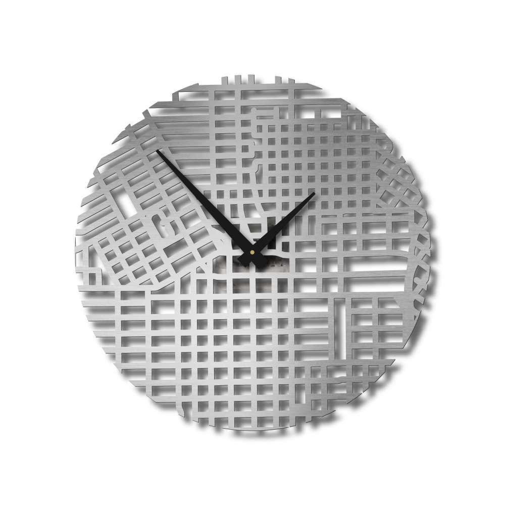 Houston Montrose Clock   Urban Story   Streets Wall Clock