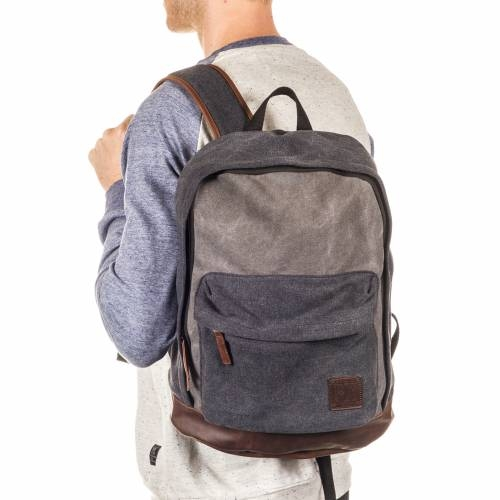 Blake Backpack | Charcoal & Black