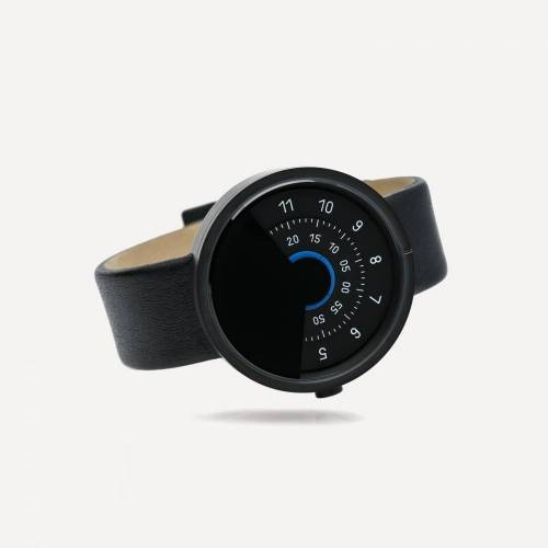 Series 000 Watch, Black & Blue - A Fresh Take on Traditional Elegance