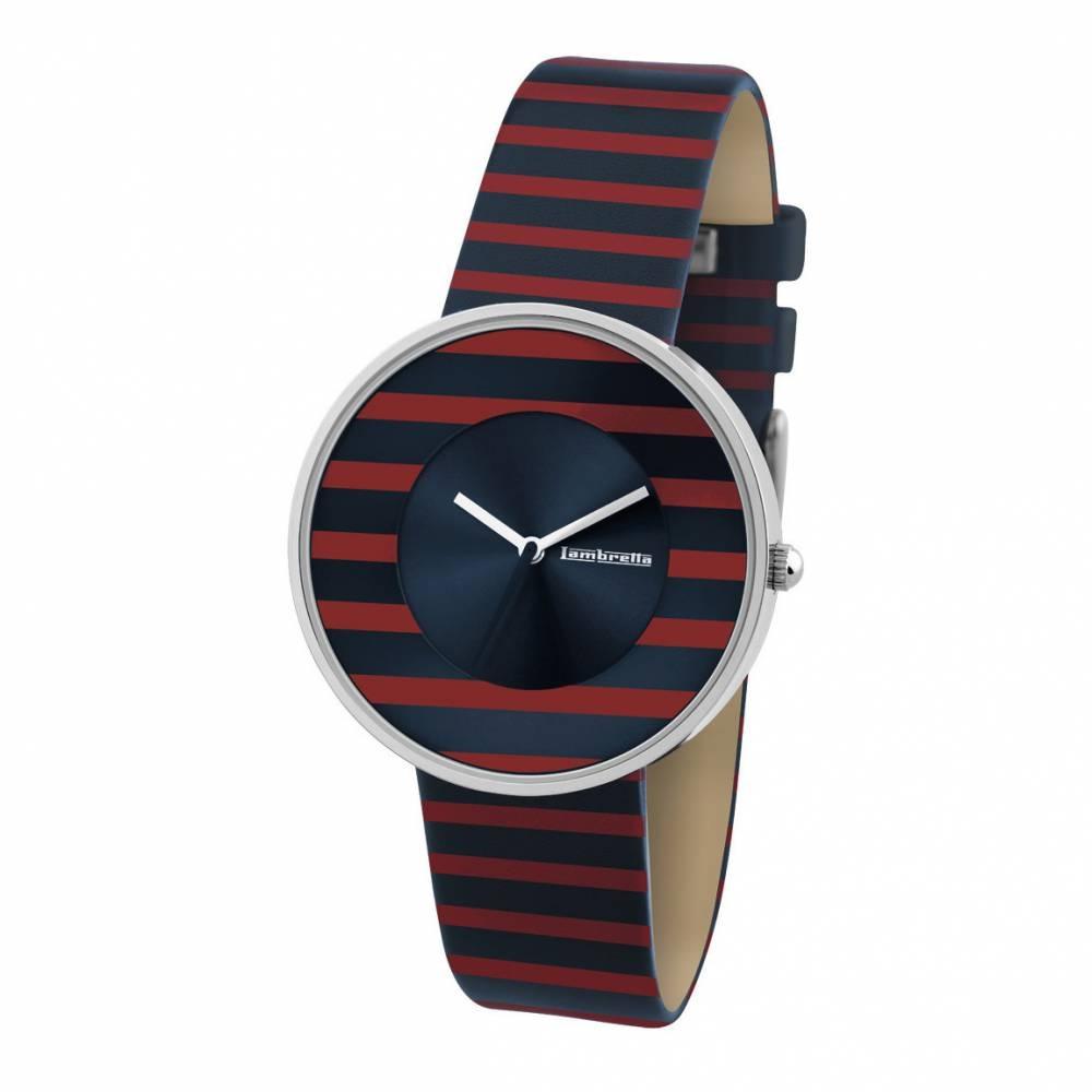 Cielo Stripes Red | Lambretta Watches