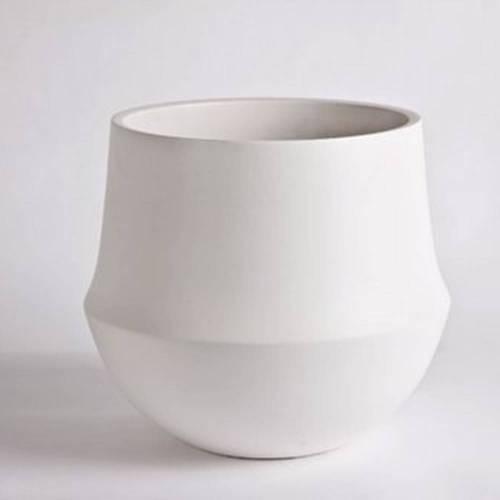 Fusion Flowerpot, White