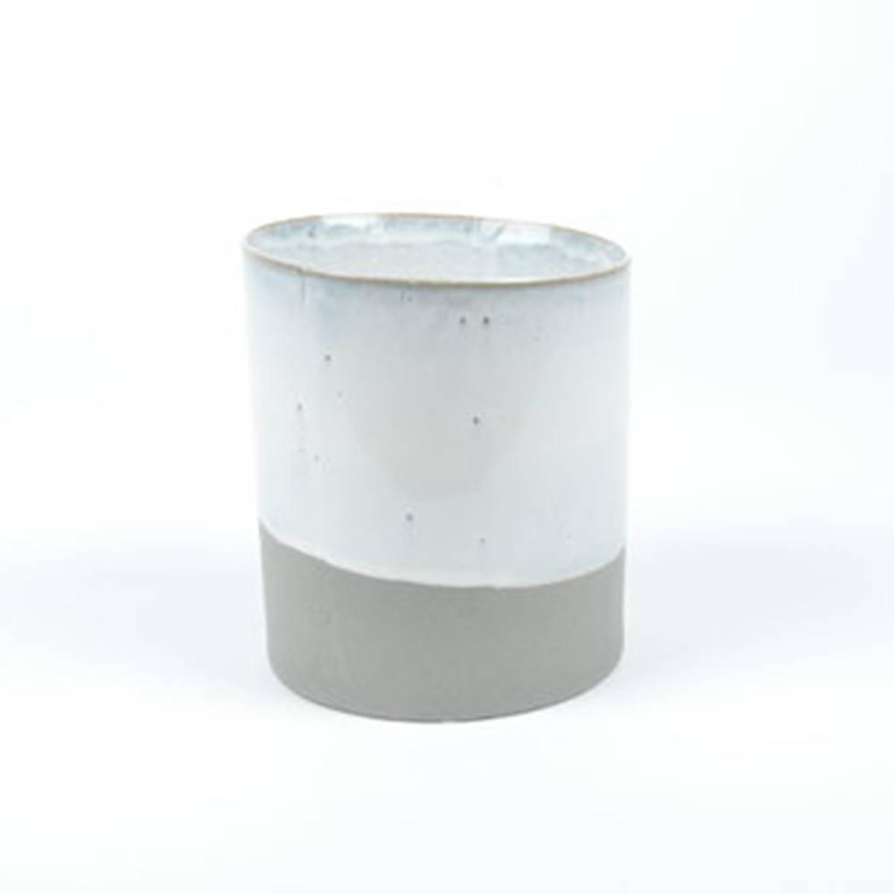 Slant Pot, Grey - Classy Ceramic Pot