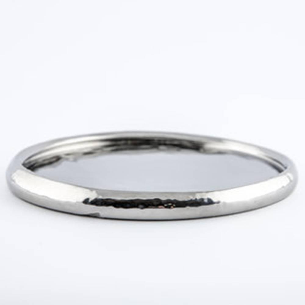 Baz Plate - Shiny Round Plate