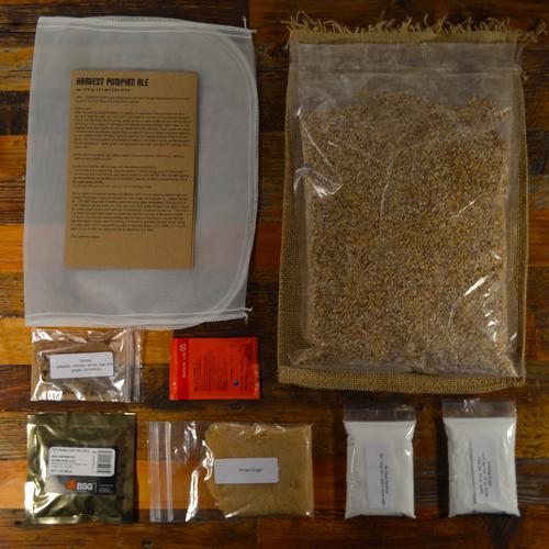 Brewing Recipe Pack | Harvest Pumpkin Ale | Box Brew Kits