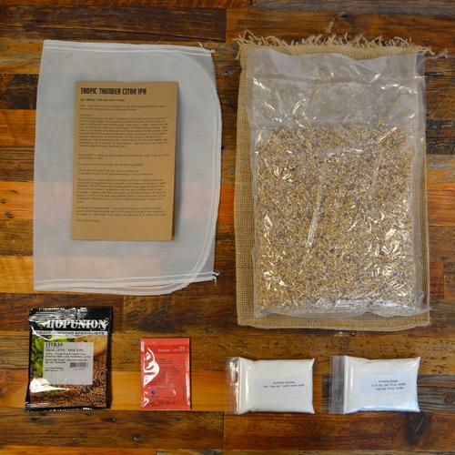 Beer Recipe Pack   Tropic Thunder Citra IPA   Box Brew Kits
