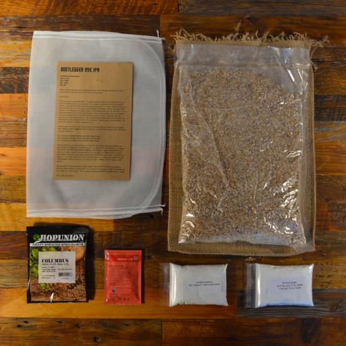 Beer Brewing Recipe Pack   Bootlegger Rye IPA   Box Brew Kit