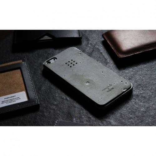 Luna Concrete Skin for Iphone 5/5s - Elegant Unique Concrete Case
