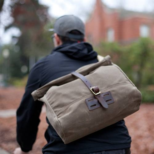 Roll Top Messenger - An Ideal Bag for Anyone Who Needs a Burly Shoulder Bag that's Extremely Weather Resistant
