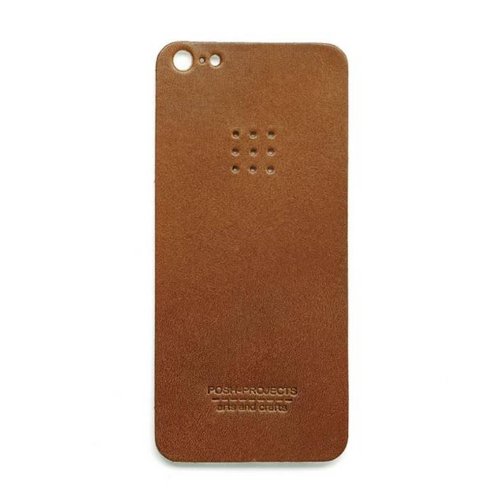 503 iPhone 5 Leather Skin, Brown - Leather iPhone Skin