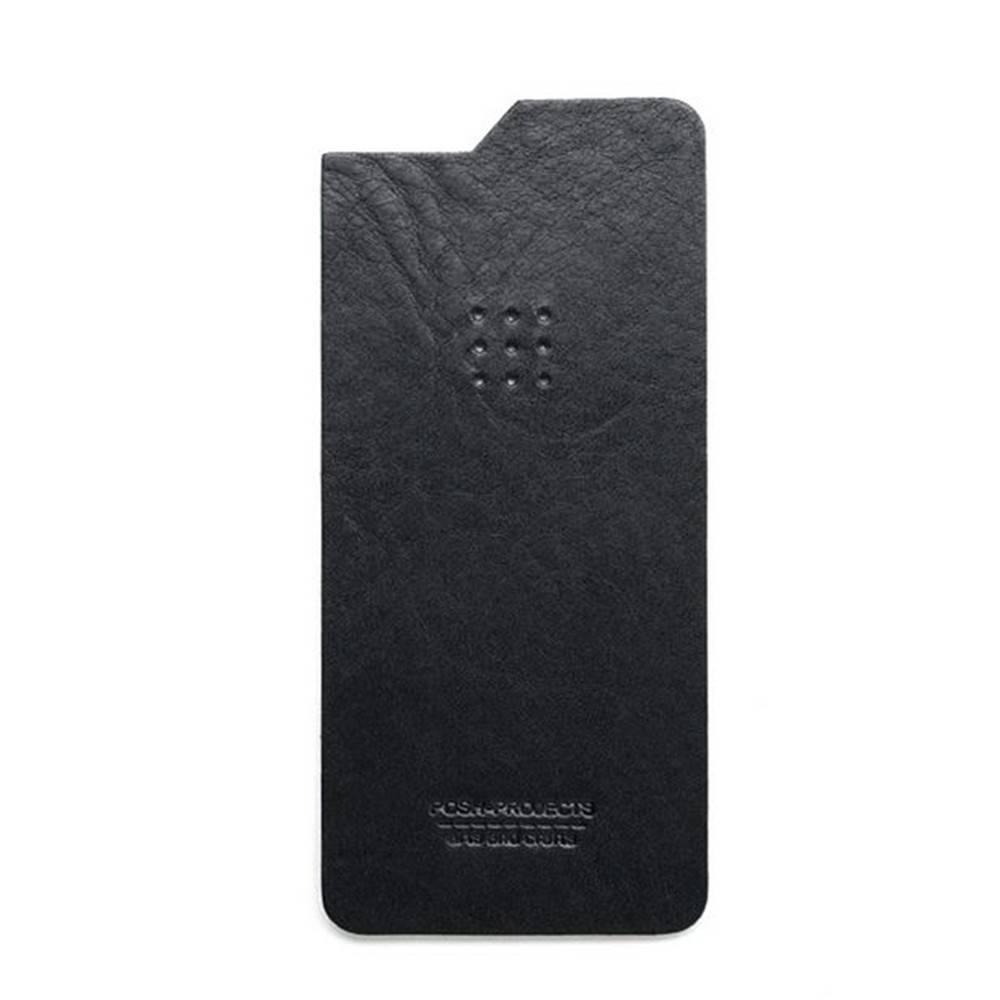504 iPhone 6 Leather Skin, Black - Leather iPhone Skin