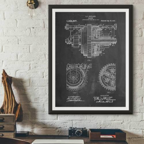 Gearing Patent Print