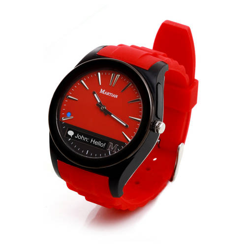 Notifier Smartwatch in Red/Black