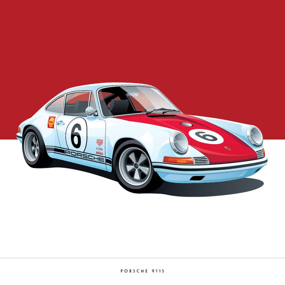 Porsche 911S - Arthur Schening