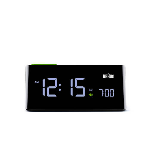 VA LCD Alarm Clock - Slim, Functional and Ergonomic