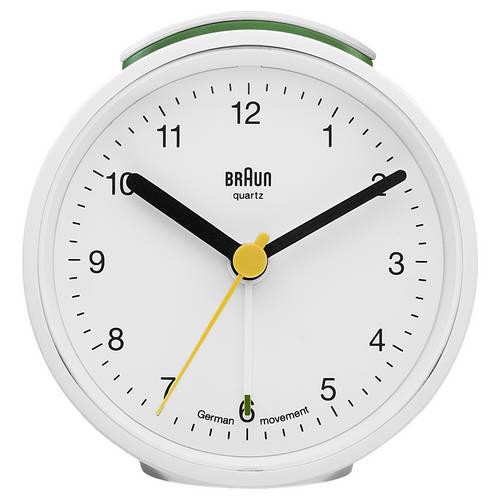 Round Quartz Alarm Clock