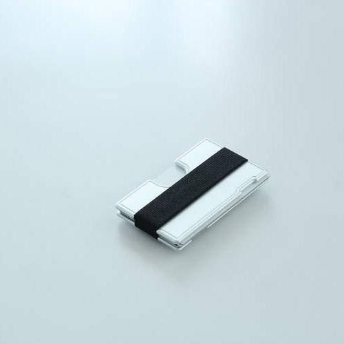Wallum T1 Textile Card Holder Wallet   Aluminum Wallet