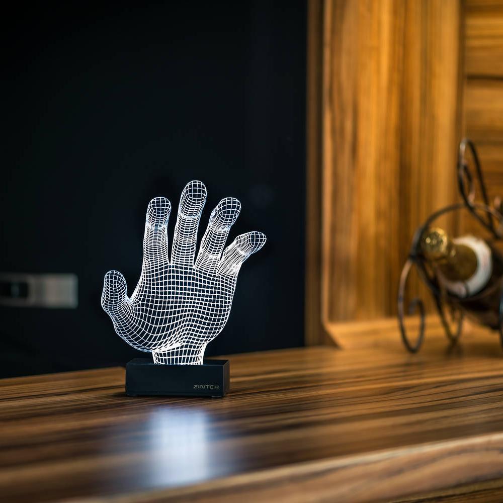 The hand - LED Lighting