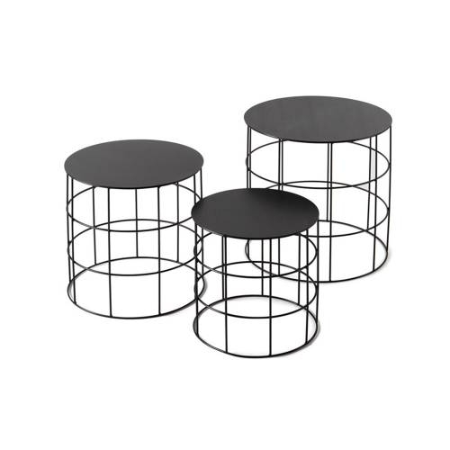 Reton Round Tables   Set of 3  Modern Furniture   Atipico