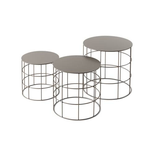 Reton Round Tables | Set of 3 |Modern Furniture | Atipico