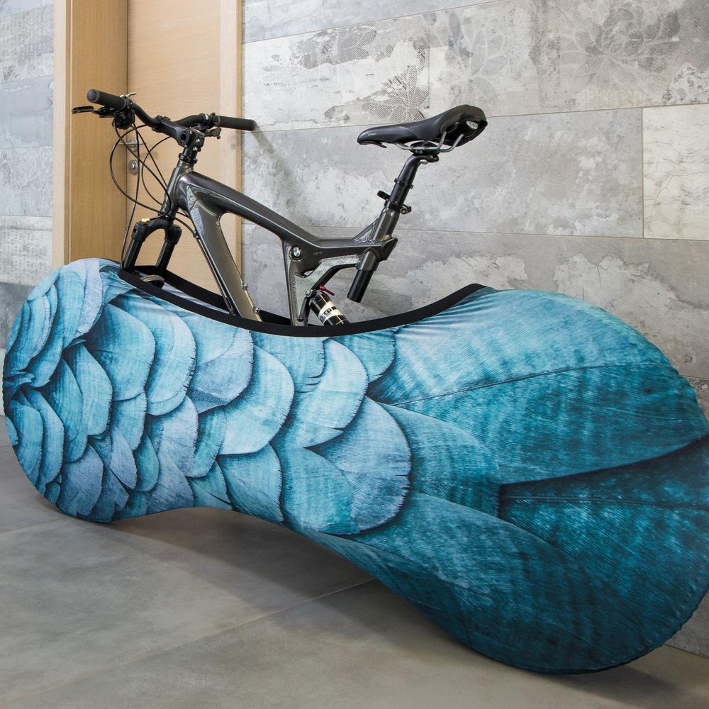 Feathers Bicycle Cover   Velo Sock