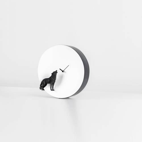 Moon X Wolf Clock