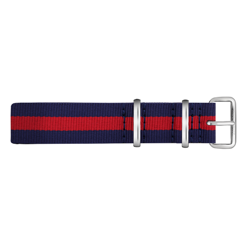 Silver Line Watch, Navy/Red - Paul Hewitt