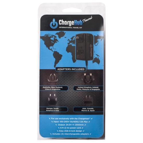International Travel Kit | ChargeHub