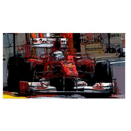 Print | Fernando Alonso | Ferrari
