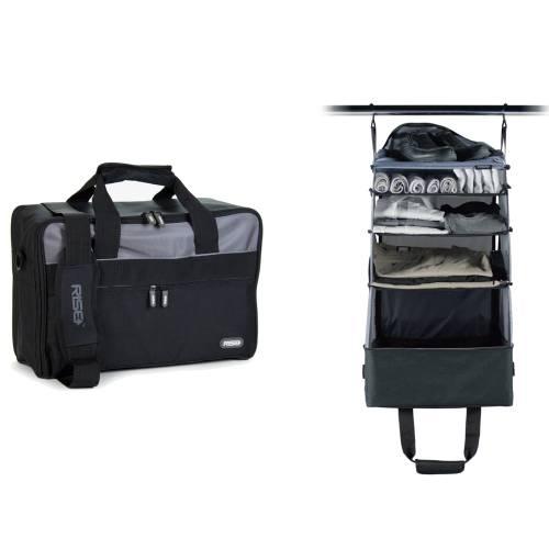 Jumper Carry-On Bag, Black/Grey