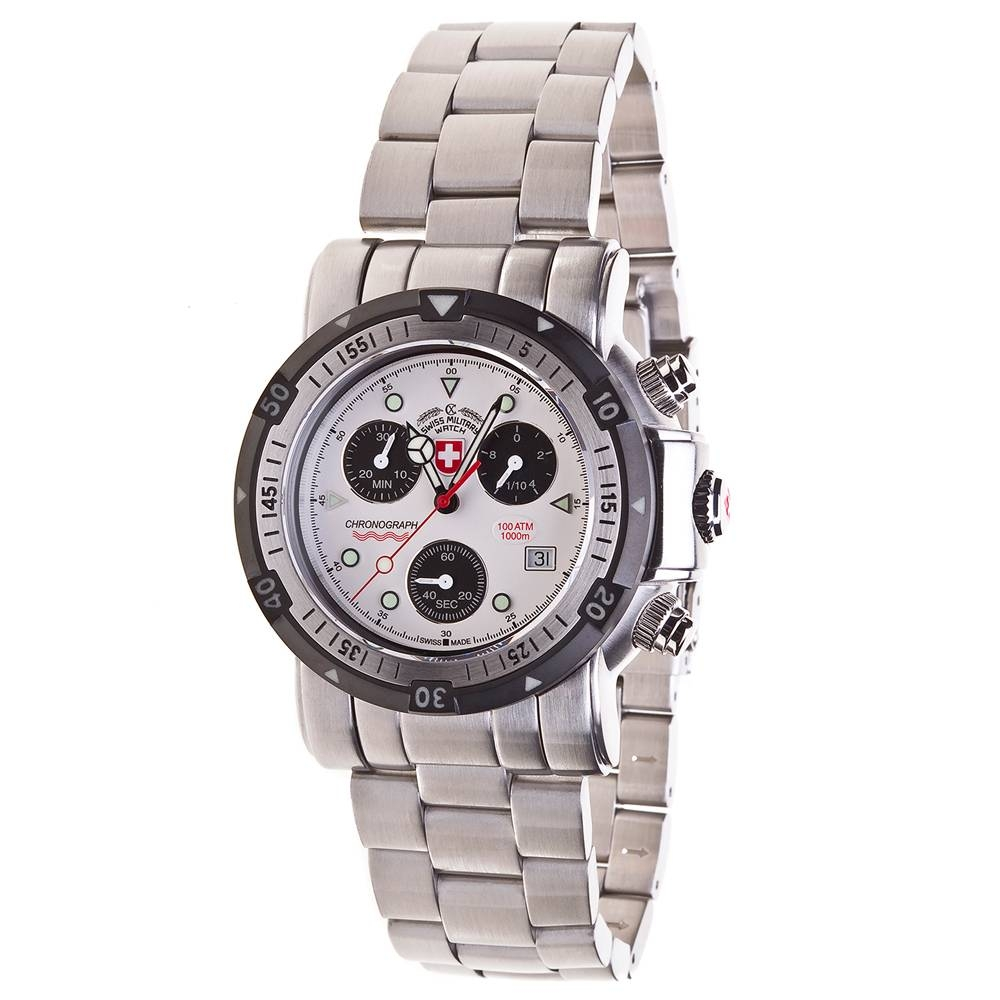 Swiss Military Watches - SEEWOLF I, Silver